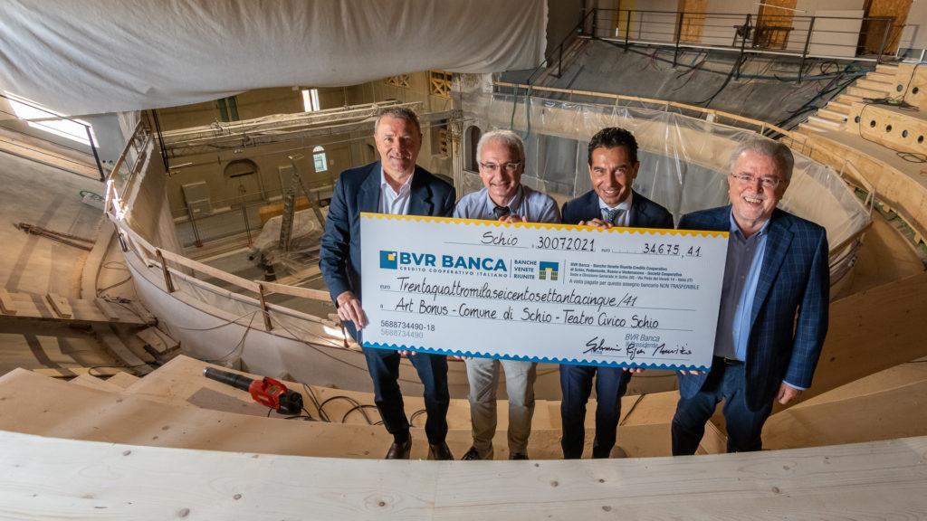 Donazione BVR Banca